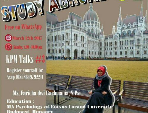 Notulensi KPM Talk #3
